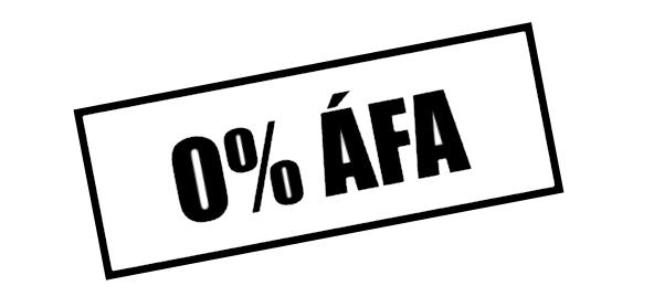 0 százalék áfa